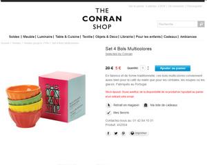 Une fiche produit de The Conran Shop