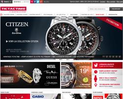 Page d'accueil de TictacTime