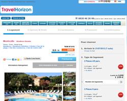 Une fiche produit de TravelHorizon
