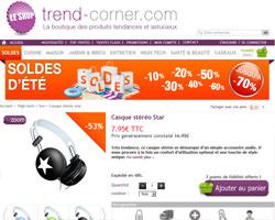 Une fiche produit de Trend-Corner