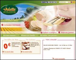 Page d'accueil de Valette