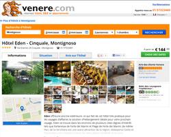 Une fiche produit de Venere