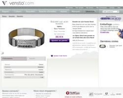 Une fiche produit de Vensto