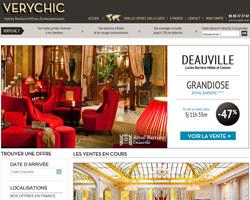 Page d'accueil de Verychic