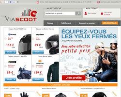 Page d'accueil de Viascoot