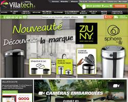 Page d'accueil de Villatech