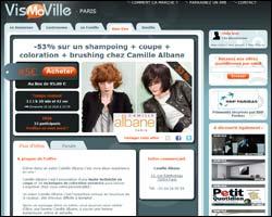 Page d'accueil de Vis-Ma-Ville