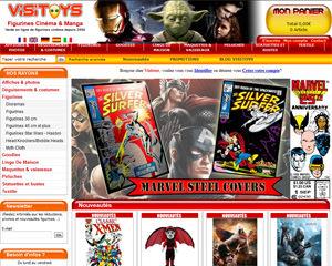 Page d'accueil de Visitoys