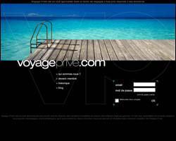 Page d'accueil de voyage-prive.com