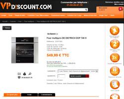 Une fiche produit de VP Discount