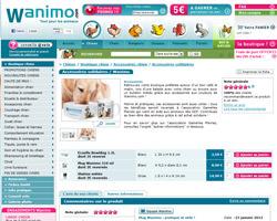 Une fiche produit de Wanimo
