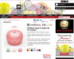 Une fiche produit de Wellbox