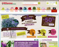 Page d'accueil de Willemse
