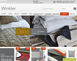 Page d'accueil de Winkler