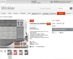 Une fiche produit de Winkler