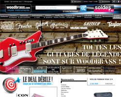 Page d'accueil de Woodbrass
