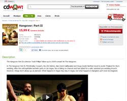 Une fiche produit de WOW HD