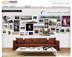 Page d'accueil de Yellow Korner