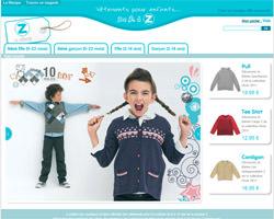 Page d'accueil de Z enfant