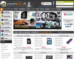 Page d'accueil de Zoombits