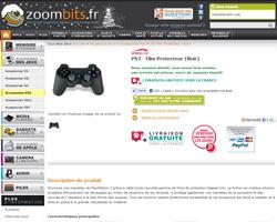 Une fiche produit de Zoombits